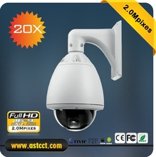 OEM CCTV System Security PTZ Camera 20X Zoom IP PTZ Camera Full HD High Speed Dome Camera Support P2P and Onvif(China)