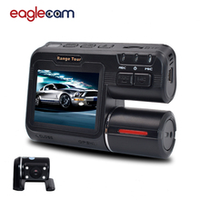 Newest i1000s Car DVR Dual Lens Camcorder 1080P Dash Cam with H.264 Camera Rear View Vehicle Black Box dash cam car dvr full hd