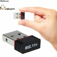 Malloom FLOWER Mini PC WiFi Adapter 150Mbps USB 2.0 Wifi Usb Wireless Network Adapter Networking Card 802.11 b/g/n