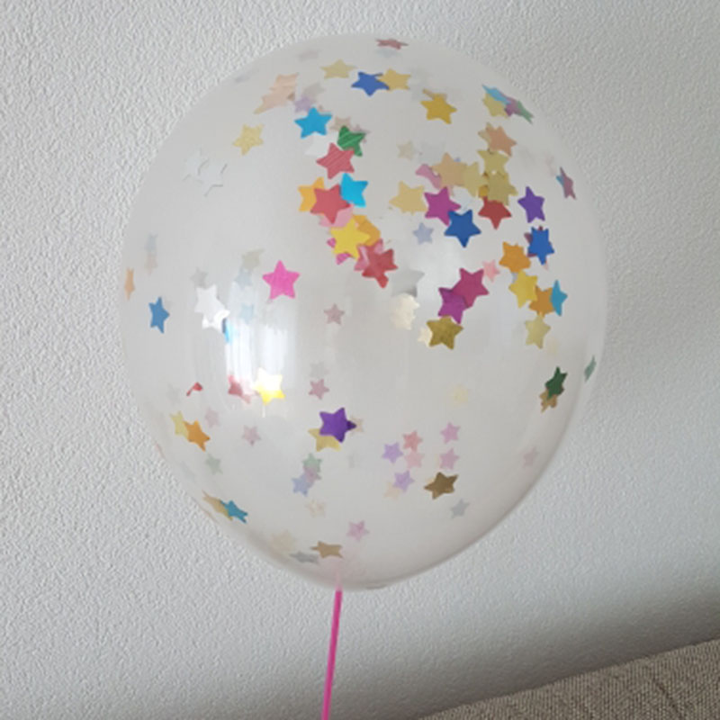 5pcs 12inch Balloon Party Wedding Decoration Multicolor Confetti Balloon Thickening Pear Ballons Decoration Birthday 23