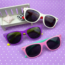 Kids  Sunglasses Classic Baby Children TR90 Safety Coating Glasses Sun UV 400 Protection