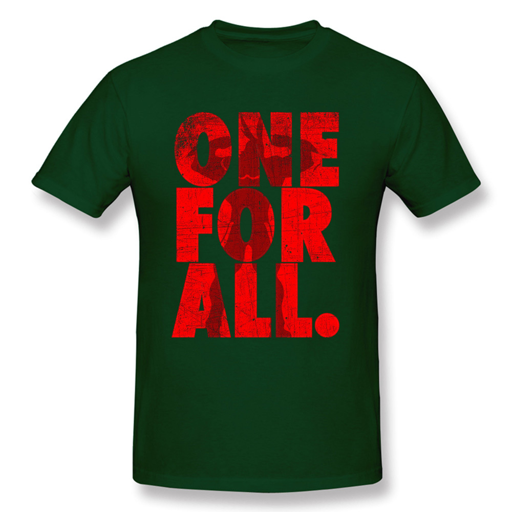 Mightier-One-For-All-My-Hero-Academia T-Shirt for Men 3D Printed Labor Day Tops Shirt Newest Tops Shirts Crewneck 100% Cotton Mightier-One-For-All-My-Hero-Academia dark