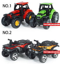 1:32 Scale mini metal diecast Beach motorcycle alloy toys pull back farm Tractor model for children gifts