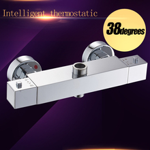 Constant Temperature Faucet Mix Water Valve Full Copper For Thermostatic Core, The thermostatic shower faucet.(China)