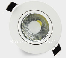 Wholesale 10W warm white/pure white/cool white COB Down light /COB Led recessed lamp CE RoHS warranty 2 years