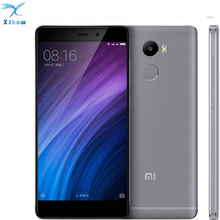 "Original Xiaomi Redmi 4  Mobile Phone 4100mAh Battery Fingerprint ID Snapdragon 430 Octa Core 5"" 720P 13MP Camera Metal Body"