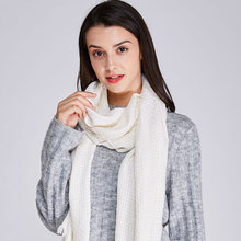 2017 New  Women Winter Mohair Scarf Long Size Warm Fashion Scarves & Wraps For Lady Casual Patchwork Accessories