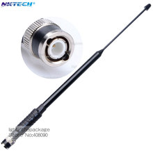 100% Genuine Original Nagoya NA-766 BNC 80-600MHz Dual Band Telescopic Antenna for Icom IC-V8 ICV82 IC-V85 TK308 CP500 CB Radio(China)