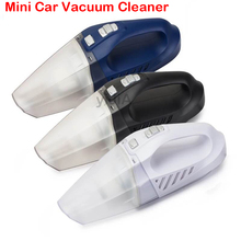 NEW 12V Vehicle Vacuum Cleaner Strong High-Power Car Wet And Dry dual-use hand-held Car Mini Vacuum Cleaner 5M line for CAR(China)