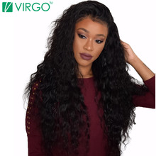 Mink 8A Indian Virgin Hair Water Wave Wet and Wavy Indian Curly Virgin Hair Weave 4 Bundles Natural Black Human Hair Extensions