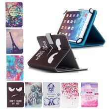 Universal PU Leather Stand Cover Case For DNS AirTab M101w 10.1 inch Tablet PC for Kids for 9inch 10.1 inch Android bags+3 GIFTS