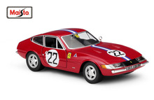 Maisto Bburago 1:24 365 GTB4 Competizione NO.22 1A SERIE 1977 Diecast Model Car Toy New In Box Free Shipping