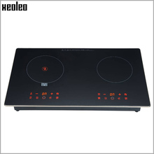 Xeoleo Double cookers Induction cooker+Electric Ceramic Cooker 1850W+1850W Touchpad Child lock Overheat protect 9 Firepower(China)