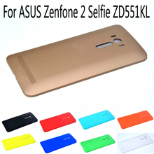 Hard Replacement Battery back cover for ASUS Zenfone 2 Selfie ZD551KL thin PC Protector battery case phone shell with LOGO