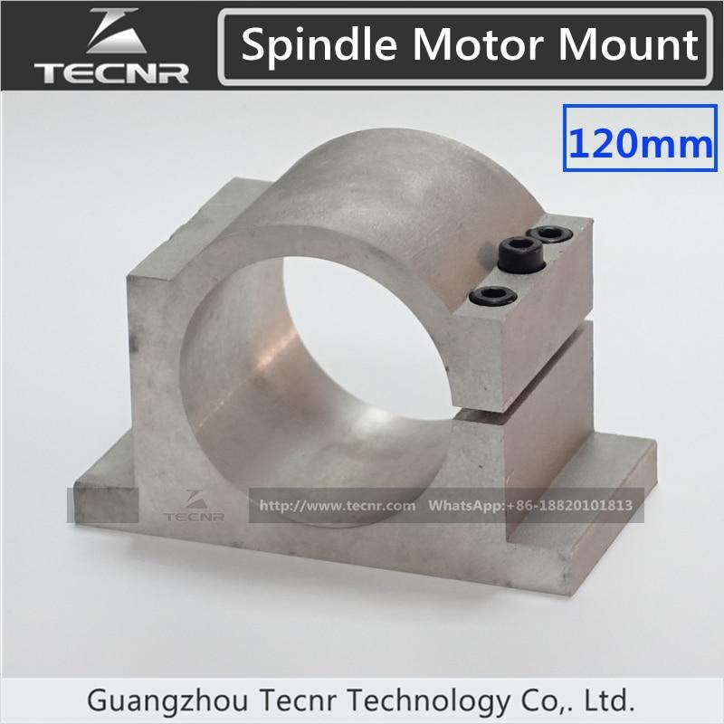 120MM cast aluminum cnc spindle motor mount  bracket  for water cool spindle motor<br><br>Aliexpress