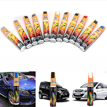 1pcs White Black Silver Gray Blue Yellow Car Paint Scratch Remover Painting Repair Pen Vehicle Coat Paint Care Tool(China)