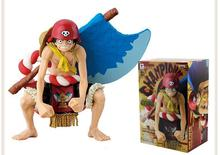 "Free Shipping 5"" One Piece Anime Monkey D Luffy Axe Ver. Boxed 12cm PVC Action Figure Collection Model Doll Toy Gift"