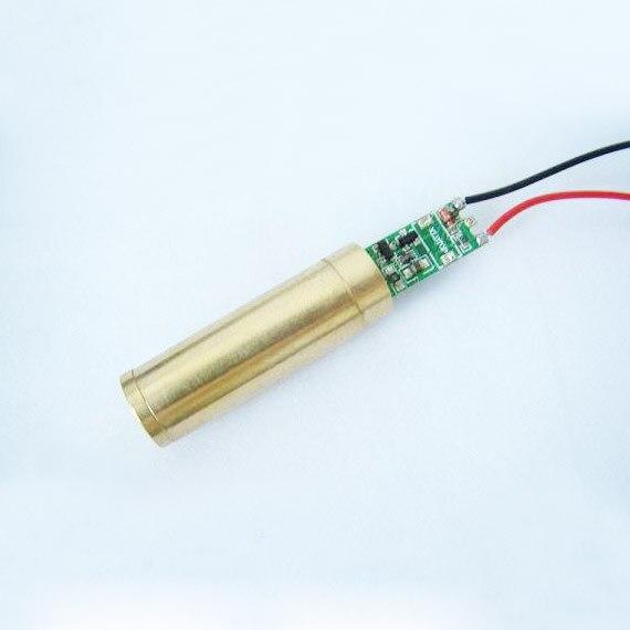 30mW green laser module DOT, DC3V 12x60mm, Copper<br><br>Aliexpress