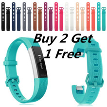 (Buy 2 Get 1 Free ) Replacement Silicone Rubber Band Strap Wristband Bracelet For Fitbit Alta/ Alta HR 2017 Small or Large Size