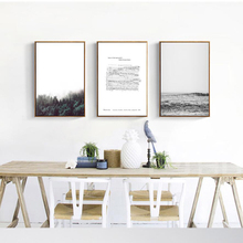 Modern Decorative Painting Chopin's manuscript sheet music black and white painting Wall Pictures For Living Room Oil Painting