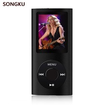 SONGKU 2017 new 4TH MP3 FM Radio 16GB 32GB Mp4 Music Player Built-in Memory Free shipping