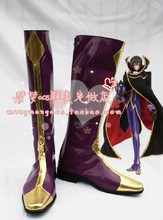 Code Geass Zero Cosplay Shoes Boots Anime Shoes