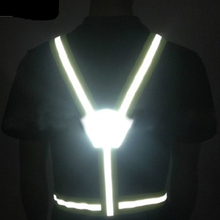 Buy 1 Pcs 360 Degree Reflective Road Bike Vest Multi Adjustable Outdoor Safety Visibility Reflective Cycling Vest Gear Stripes for $6.34 in AliExpress store