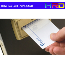 [10pcs/lot blank VINGCARD card] hotel keycard guest room card blank pvc m1 1k s50 13.56MHz access control ving card encrypted