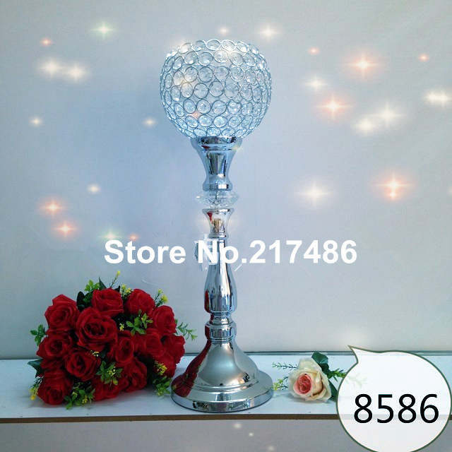 with crystal ballcrystal flower for wedding tablechina