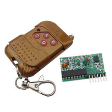 1set IC 2262/2272 4 CH 315Mhz Key Wireless Remote Control Kits Receiver module For arduino(China)