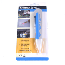 NEW LED Light AC Electric Voltage Tester Volt Alert Pen Detector Sensor 90~1000V VD02(China)