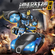 Deformation robot remote control car,Toy car model,Electric remote control cars,Children's toy car,Gifts for children.
