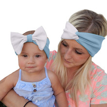 Top Sale Cotton Head Wraps With Cute Sequin Girls & Mommy Knotted Hairband  Mom and Me Matching Turban Headband Set
