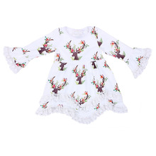 Buy 2017 new hot baby girl Christmas dress baby girl kids children dress kids Christmas outfits lace Christmas dress girls kids for $13.99 in AliExpress store