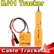 Hot Sale Durable Handheld Telephone Cable Tracker Phone Wire Detector RJ11 Line Cord Tester Tool Kit Tone Tracer Receiver