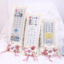 Home Textile Series Air Conditioning Remote Control TV Remote Control Cover Remote Control Cover Dust Lace Cover Sleeve 6ZA216(China)