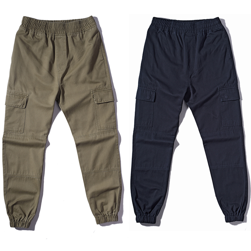 2017 fashion loose Long Pant Men Baggy Jogger Trousers Fashion Fitted Bottoms hiphop CARGO pants Fashion Casual overallsОдежда и ак�е��уары<br><br><br>Aliexpress