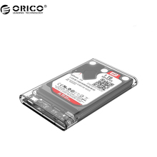 ORICO 2139C3 Type C Hard Drive Enclosure UASP 2.5 inch Transparent USB3.1 Hard Drive Enclosure Support UASP Protocol(China)