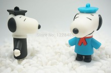 Usb Stick Hot selling ! usb flash drive 2GB 4GB 8GB 16GB 32GB 64GB  CARTOON DOG SHAPE  USB Flash 2.0 Memory Drive Stick S750