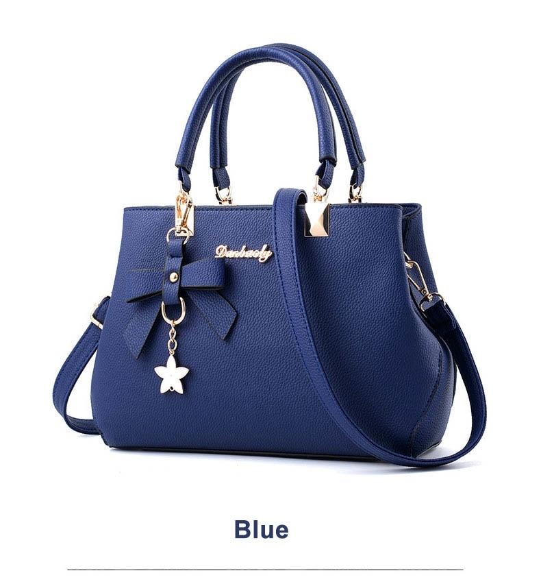 WENYUJH New 18 Elegant Shoulder Bag Women Designer Luxury Handbags Women Bags Plum Bow Sweet Messenger Crossbody Bag for Women 20