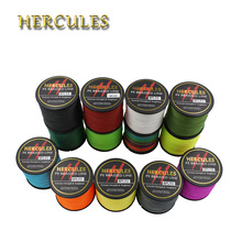 Hercules Braided Fishing Line 8 Strands 500M 60LB 0.40mm 547Yds Fishing Line Superior Power 100% PE Ocean Fly Fishing Carp Pesca(China)