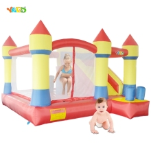YARD Free Shipping Bouncy Dream Castle Inflatable Jumper Bouncer 6 in 1 All-Round Obstacle Combo For Home Use
