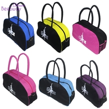 Pink ballet dance bag handbag Black hanhandbags for girls Women dancer Embroidered Clutch good Water-proof fabric bag(China)