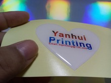 waterproof sticker and dome sticker printing custom