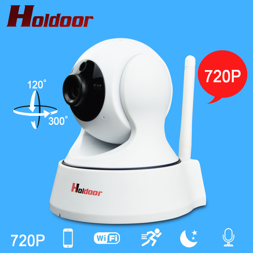 IP Camera Home Security WiFi Wireless Camera Night Vision Infrared Two Way Intercom HD 720P Baby Monitor Motion Detection<br>