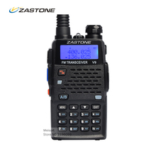 Portable Walkie Talkie Zastone V9 Dual Band VHF UHF Handheld Radio HF Transceiver Two Way Radios For Hunting Amateur Ham Radio(China)