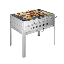 High Quality Stainless Steel BBQ Grill Charcoal Grill Outdoor Portable Folding Barbecue Stoves, BBQ Grills-001