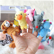Hot Sale 1Pc New Baby Puzzle Toy  Animal Fingers Hand and Feet Puppet Creative Early Learning Educational Toys for Kids