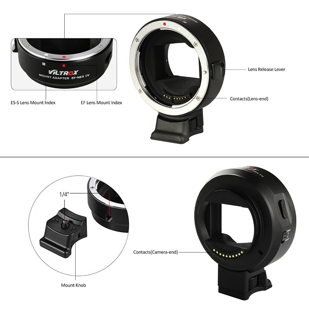 Viltrox EF-NEX IV Automatic focus Lens Adapter (25)