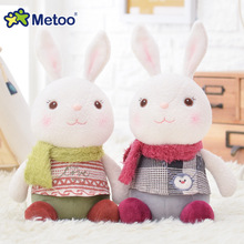 1 pc Metoo Plush Doll Baby Kids Toys for Girls Birthday Christmas Gift  Lovely Sweet Cute Stuffed Pendant Tiramitu Rabbits dolls